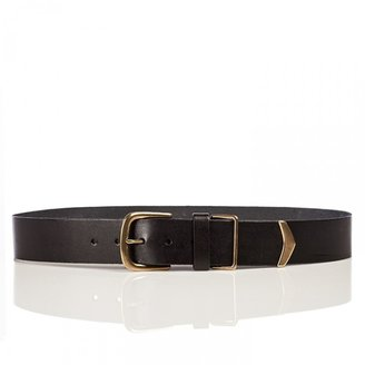 Linea Pelle Sullivan Military Hip Belt with Metal Tip