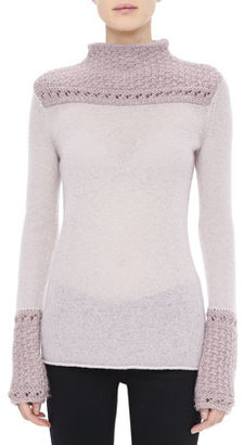 Tory Burch Marnie Texture-Detail Sweater