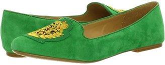 Nine West Panto (Green Suede) - Footwear