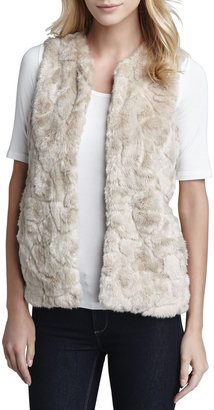 French Connection Nala Faux-Shearling Vest