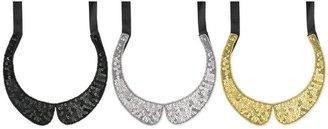 Z Designs Beaded Peter Pan Collar Necklace