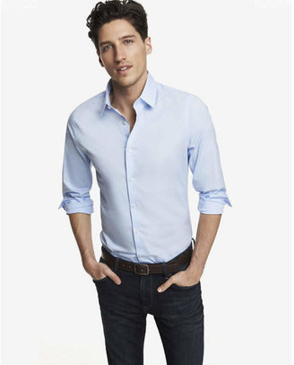 Express Slim Fit 1MX Shirt $59.90 thestylecure.com