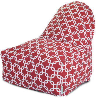 Majestic Home Kick-It Chair Red Links