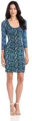 Tracy Reese Women's Matte And Slink Sheath Dress
