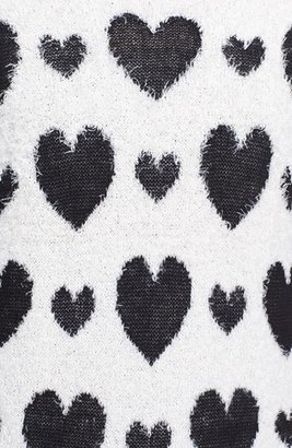 Love by Design Heart Print Pullover (Juniors)