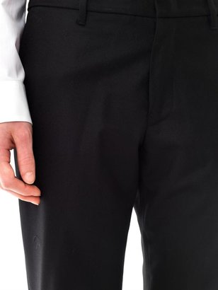 Jil Sander Flannel seam-back trousers