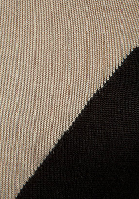 LAmade 3/4 Sleeve Crew Neck Tunic in Black/Cream