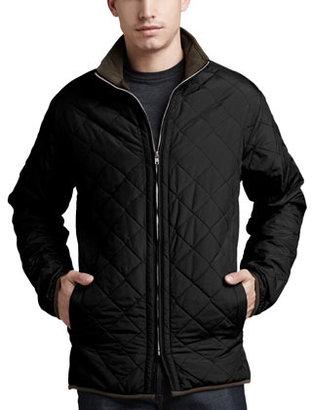 Peter Millar Chesapeake Quilted Jacket, Black