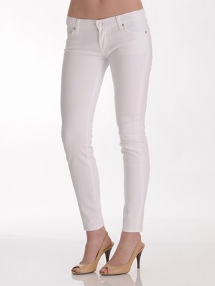 7 For All Mankind Gwenevere Skinny Jean in Clean White