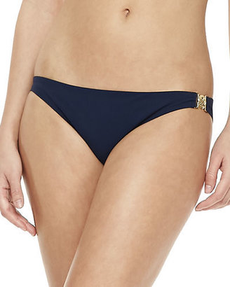 Tory Burch Logo-Side Swim Bottom $125 thestylecure.com