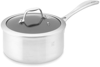 Zwilling J.A. Henckels Zwilling Spirit Stainless-Steel Ceramic Nonstick Saucepan with Lid