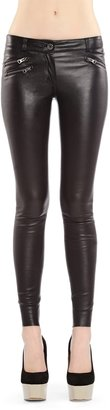 Mackage Miki Black Leather Pants