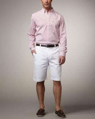 Lacoste Striped Poplin Shirt