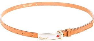 DSquared DSQUARED2 skinny leather belt