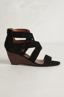 Anthropologie Tacey Suede Mini-Wedges