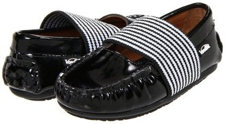 Venettini 55-Lily FA11(Toddler/Youth) (Black Patent) - Footwear