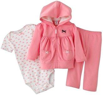Carter's horse hoodie set - baby