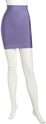 BCBGMAXAZRIA Body Conscious Miniskirt, Bright Wisteria