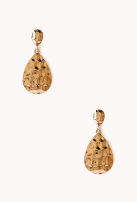 Forever 21 Elegant Teardrop Earrings