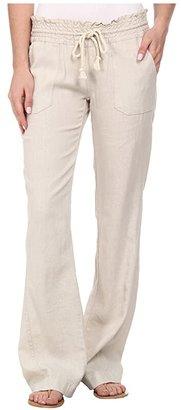 Roxy Ocean Side Pant (Dress Blues) Women's Casual Pants