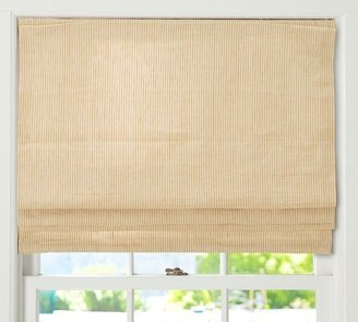 Pottery Barn Mini Stripe Cordless Roman Shade