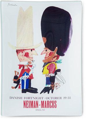 "John Derian Neiman Marcus Danish Fortnight Tray, 6"" x 9"""