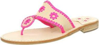 Jack Rogers Women's Vachetta Neon Navajo Thong Sandal