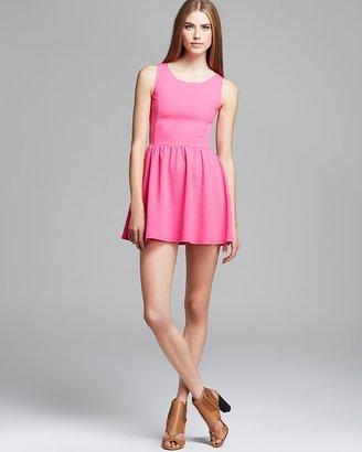 Aqua Dress - Dash Texture