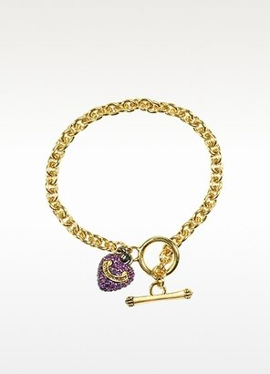 Juicy Couture Pave Heart Wish Bracelet
