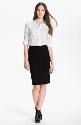 Theory 'Golda - Tailor' Pencil Skirt
