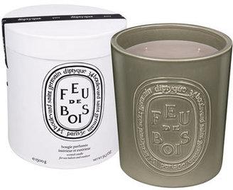 Diptyque Ceramic Feu de Bois Scented Candle