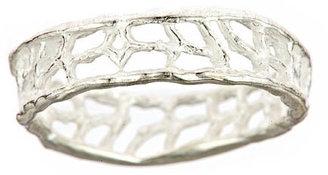 Catherine Weitzman Slim Coral Ring