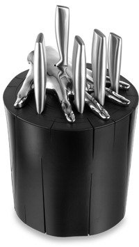Bed Bath & Beyond Five Finger Fillet® Knife Holder Set - Black
