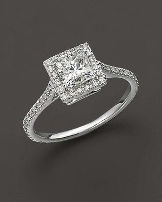 Bloomingdale's Diamond Engagement Ring 18 Kt. White Gold, 1.25 ct. t.w. - 100% Exclusive