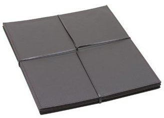 Vue Faux Leather Placemats Chocolate 4 Pack