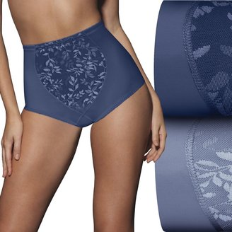 Bali Women's 2-Pack Firm Control Tummy Panel Shaping Briefs X710