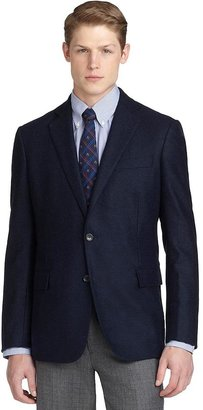 Brooks Brothers Regent Fit Two-Button Double Face Blazer