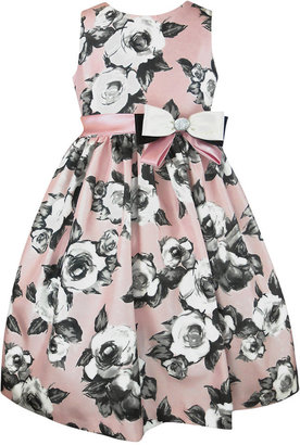 Jayne Copeland Floral Print A-Line Dress, Toddler & Little Girls (2T-6X)