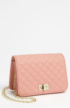 Lulu Quilted Crossbody Bag (Juniors) Pink One Size