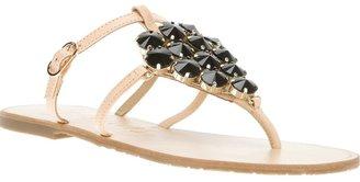 Ioannis embellished thong sandal
