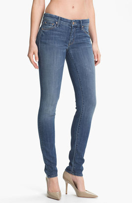 Mother 'The Looker' Skinny Stretch Jeans (Medium Kitty)