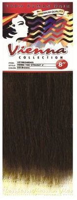 "Vienna Yaki 8"" Straight 100% Human Hair #1"