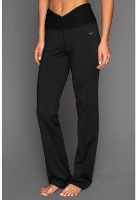 Nike Gym OM Yoga Pant (Black/Black) - Apparel