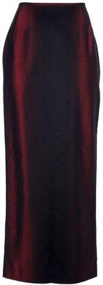 Jean Paul Gaultier Vintage velvet textured skirt