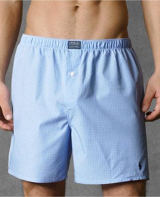 Polo Ralph Lauren Men Underwear, Woven Boxer