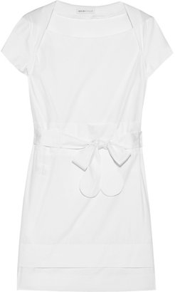 See by Chloe Cotton and silk-blend dress