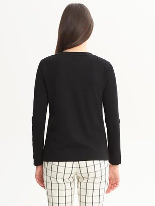 Banana Republic Floral Beaded Pullover