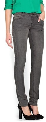 MANGO Super Slim-Fit Grey Jeans