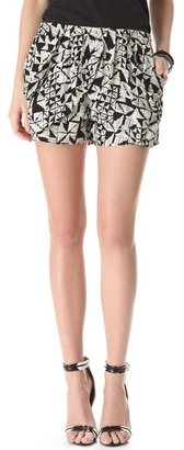 T-Bags Tbags los angeles Print Shorts