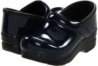 Dansko Gitte Patent (Toddler/Little Kid/Big Kid) (Black Patent) - Footwear